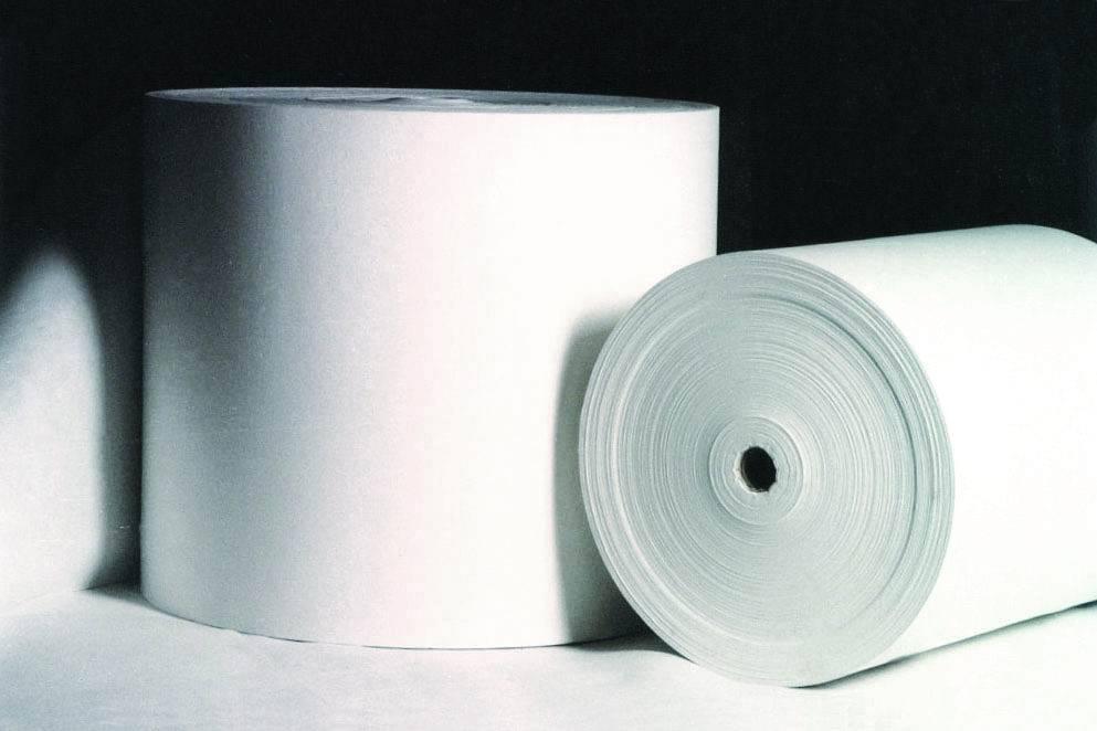 Spunbonded polyester mat