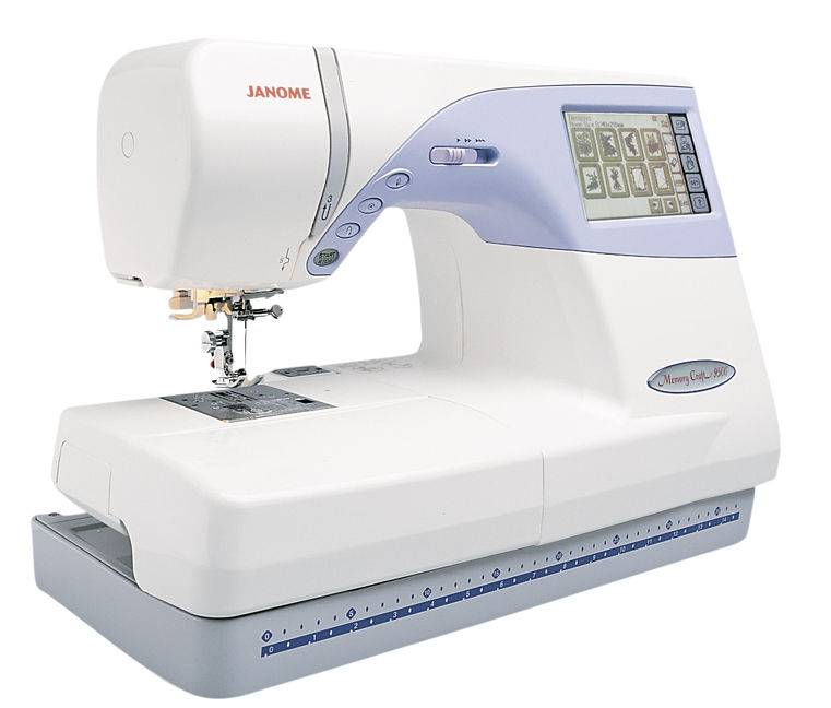 Janome MC 9500 Sewing and Embroidery Machine