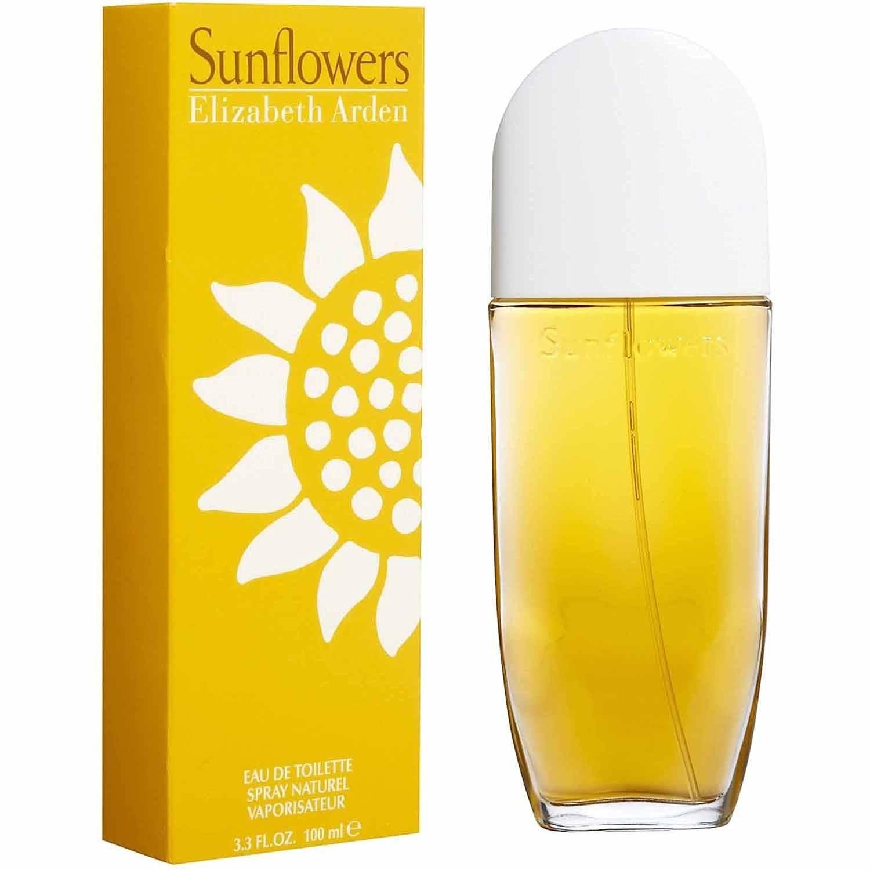 Sunflowers 100 ml Eau de Toilette Spray for Women by Elizabeth Arden