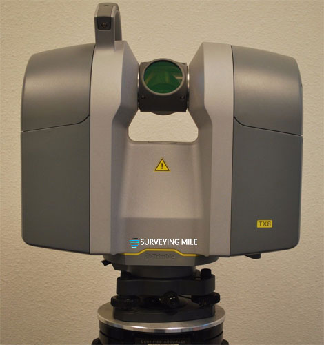 Demo used Trimble TX8 3D Laser Scanner Set