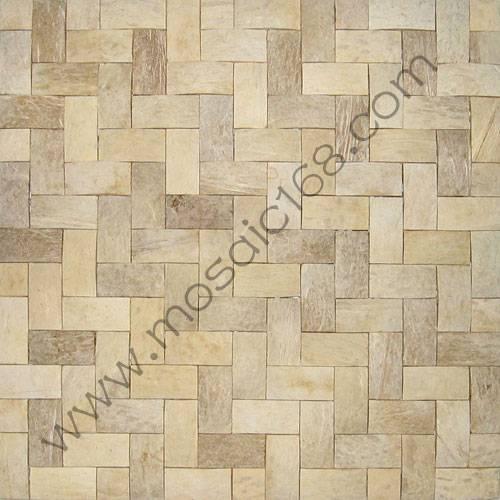 nature coconut mosaico tile