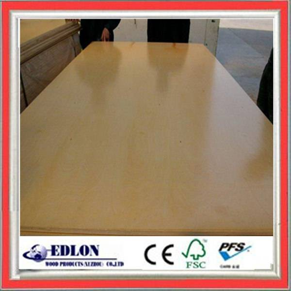 Cabinet grade birch plywood for furniture