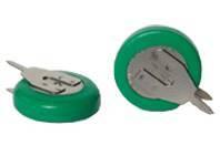 NiMH button cell battery