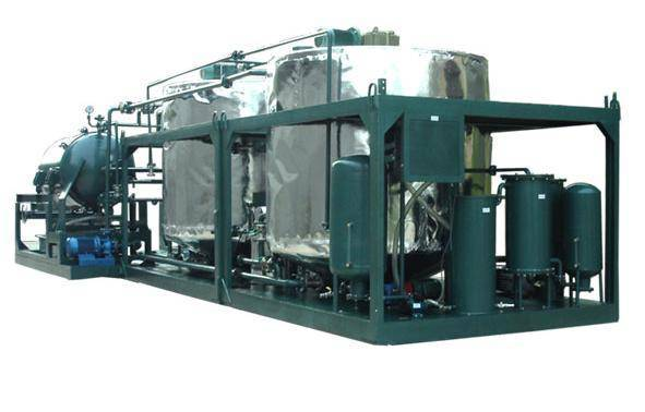 engine oil purifier for base oil recycling