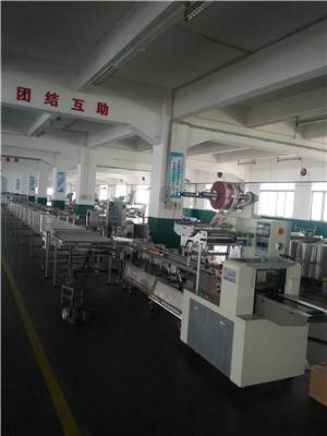 Automatic Dorayaki feeding & packing line