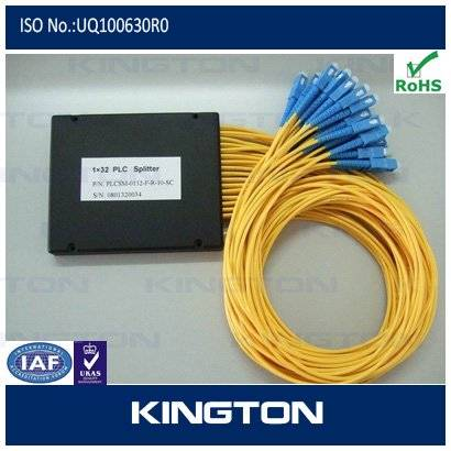 ABS PLC splitter with sc connector
