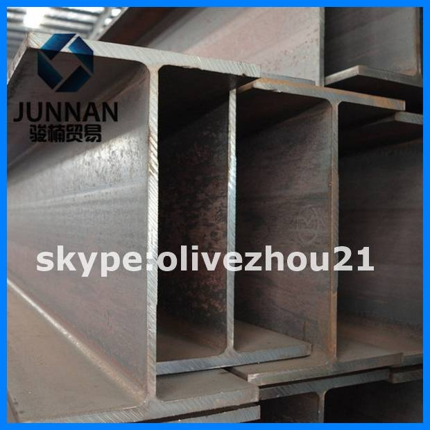 Galvanized h beam size chart H steel section beam