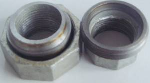 Galvanized malleable iron pipe fitting-union