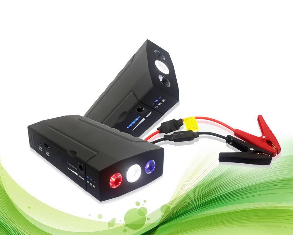 Factory Price 13800mAh Car Emergency Jump Starter Multi-function for Laptop,Mobile Phones,Cameras,Ta