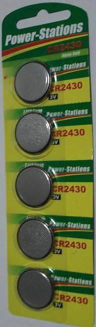 CR2430 lithium button cells 3.0V