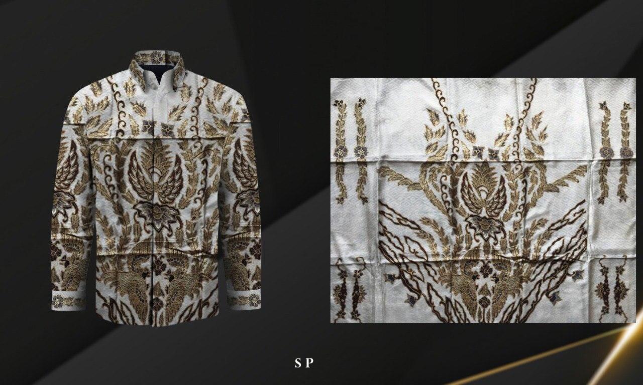 Handmade Prada Silk Batik Fabrics, Style 23