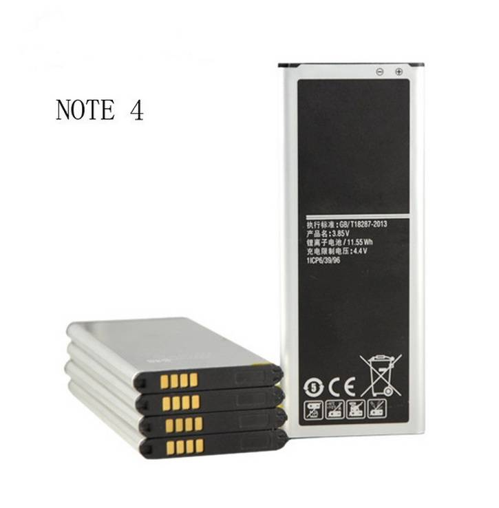 China Factory direct supply Super Quality 3000mahMobile Phone Battery For Samsung Galaxy Note4