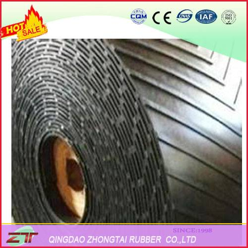 Chevron Rubber Conveyor Belt