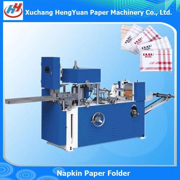 Embossing Pocket Tissue Paper Napkin Folding Machine