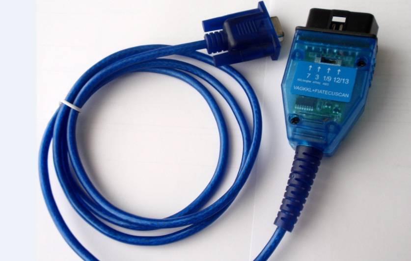 Newest Style 2012 Diagnostic Cable for KKL VAG COM 409 COM VAG KKL Line FIAT ECU Scan