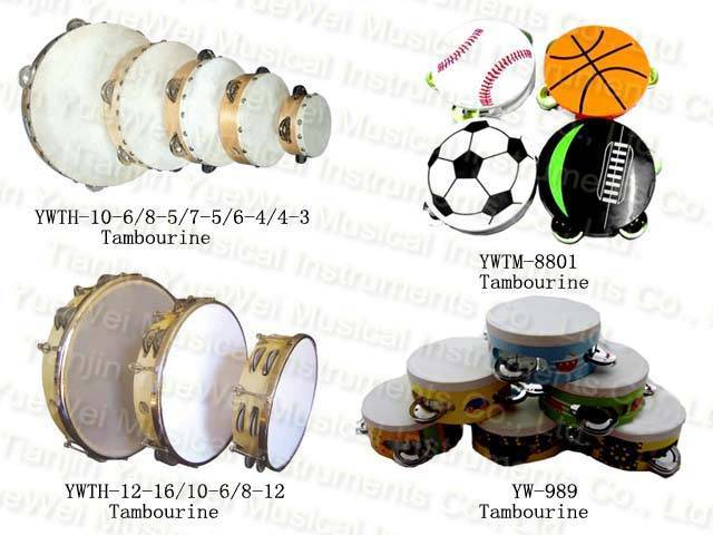 Tambourine children percussion