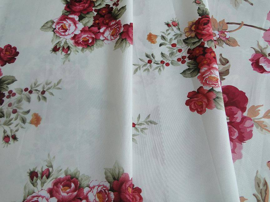 100%polyester brushed printed fabric