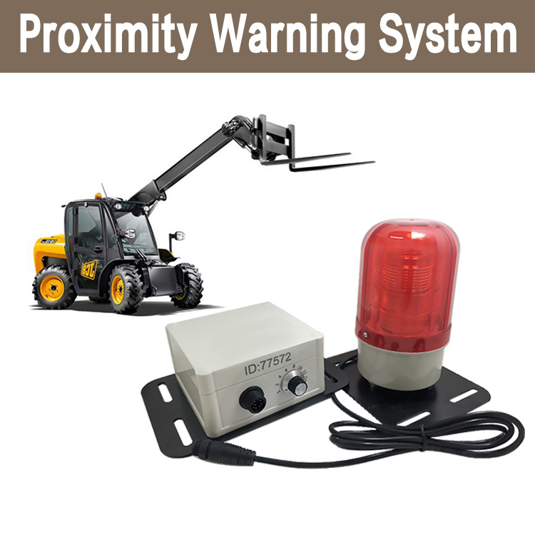 CareDrive forklift proximity warning and pedestrian detection system DAX202