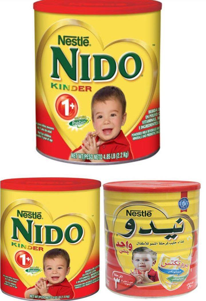 PREMIUM QUALITY RED CAP NIDO/NESTLE NIDO KINDER 1+ TODDLER FORMULA