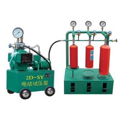 Fire Extinguisher Testing-Pressure Test Stand