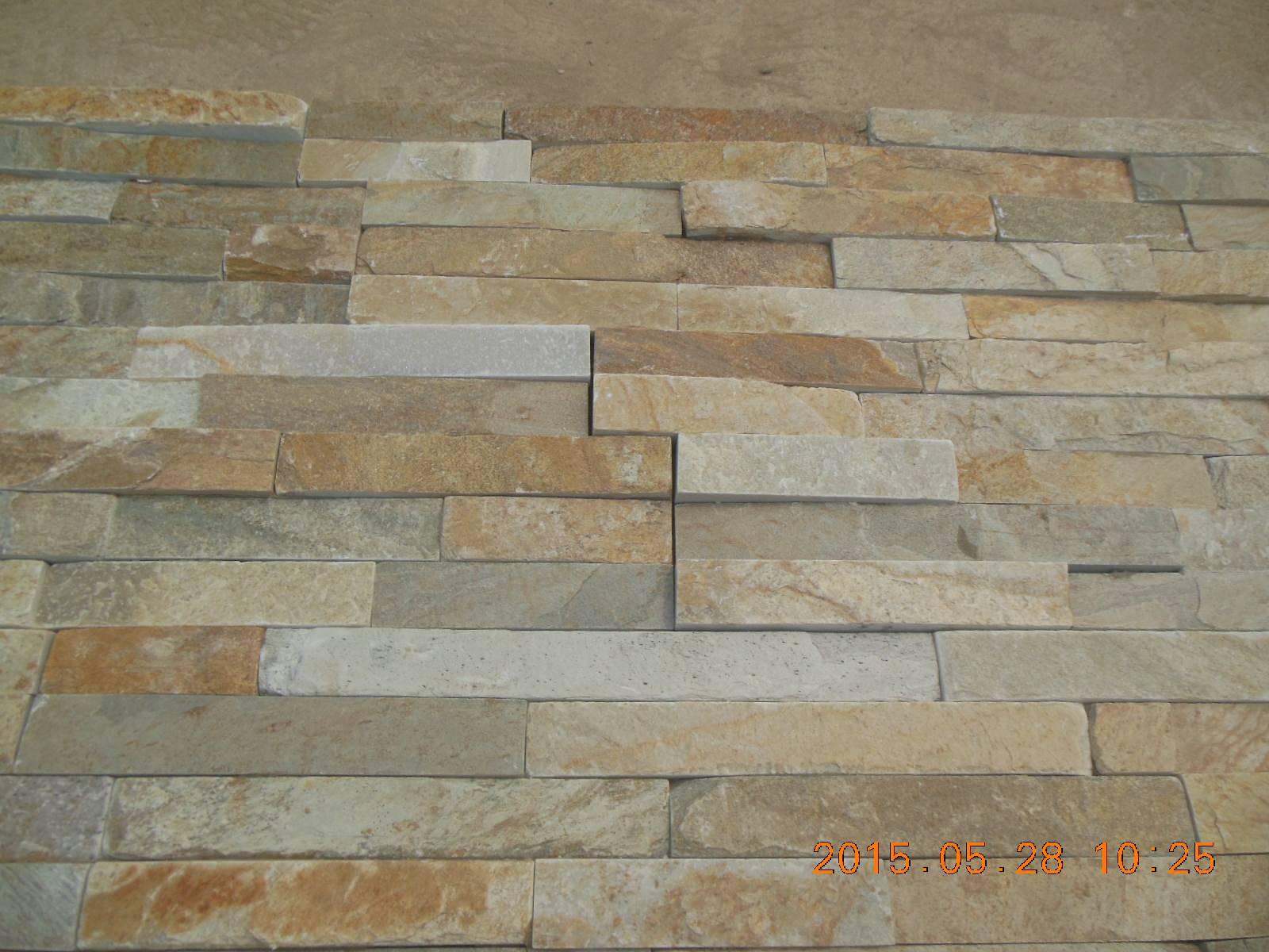 Golden Honey Natural Wall Cladding Tile
