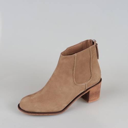 woman calf ankle boots (0070)