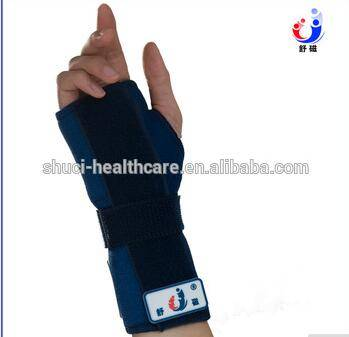neoprene waterproof orthopedic wrist splint neoprene wrist support brace