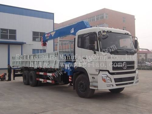 12Tons truck mounted crane&hydraulic telescopic truck crane