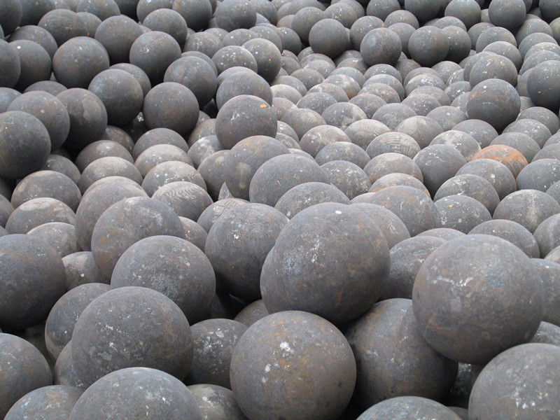 hot forged steel grinding media mill balls