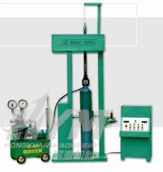 sell The steel bottle test pressure loading machine