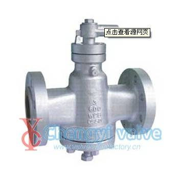 API oil seal plug valve