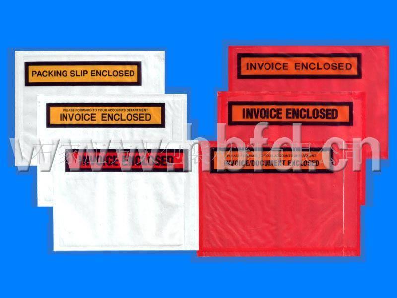 offer packing list envelope,courier bag