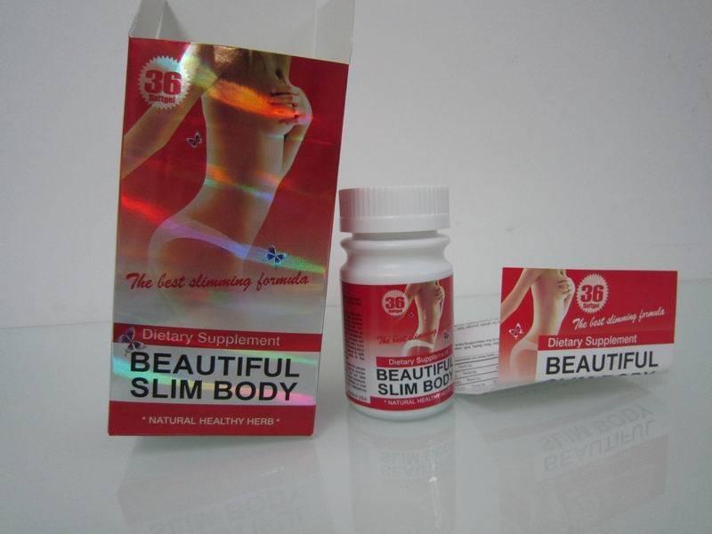 beautiful slim body, slimming pills, weight loss