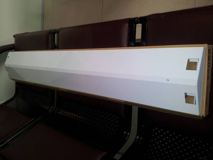 1.2m T8 Fluorescent Fixtures LFTR402 (With UL certification)