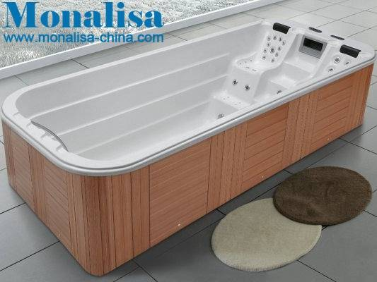 Monalisa jacuzzi swimming pool with Balboa system new swimming pool