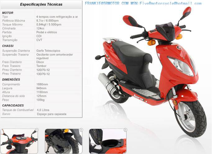 SPECIAL OFFER FIVE R MOTORCYCLE WY125T-21 (125CC)