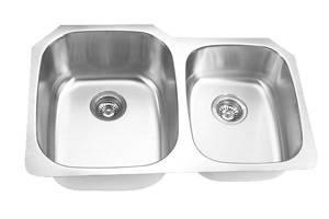 Undermount Double Bowl Stainless Steel Kitchen Sink