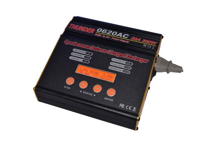 Thunder 0620AC balance charger/discharger (20A 300W AC/DC)