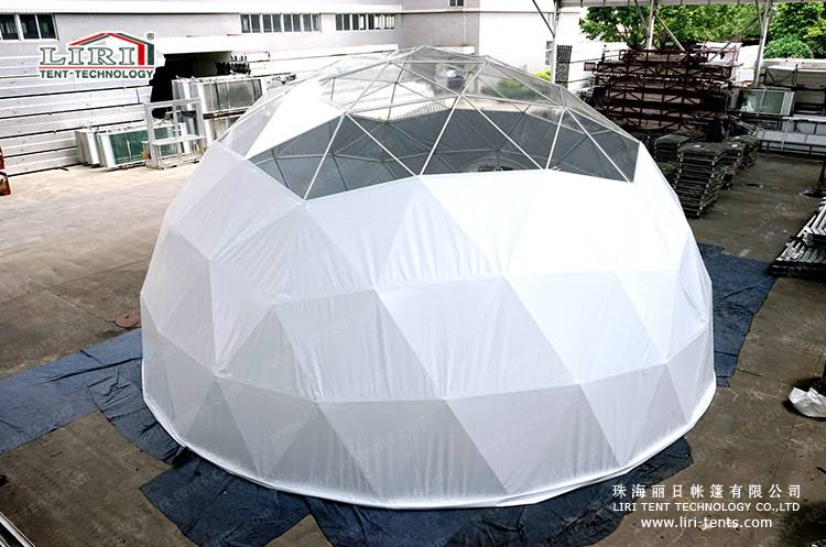 Luxury half sphere tent for hotel usage