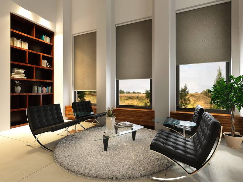 Bintronic Motorized Roller Shades (BT-MRS)