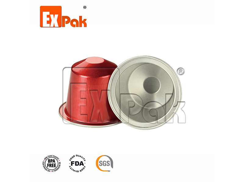 Nespresso Aluminum capsule without silicon ring (NA-1)