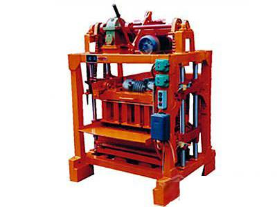 Automatic Block and Brick Making Machine