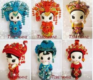 China Minority Doll,Chinese Minority Doll,China Ethnic Dolls