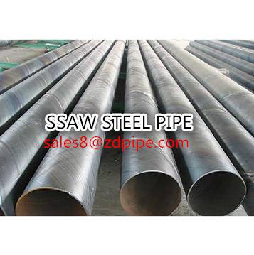 API 5L SSAW/spiral welded steel pipe
