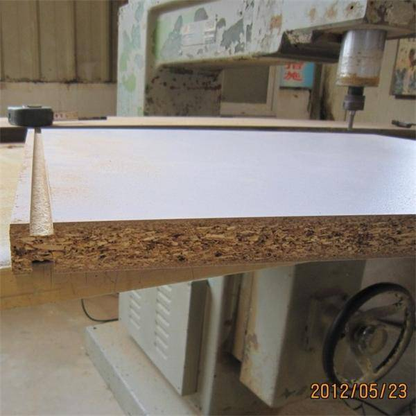 18303660mm melamine faced particle board factory