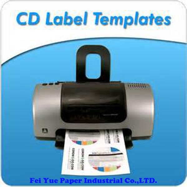 Glossy CD label