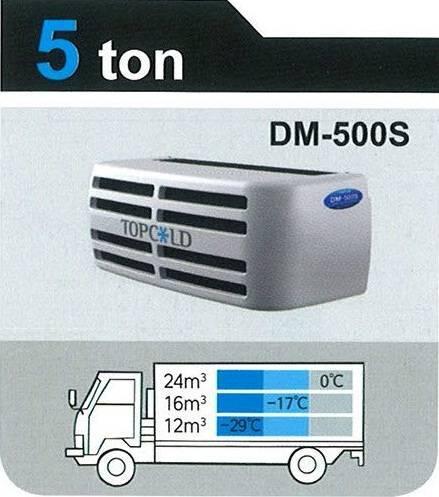 TOPCOLD / DM-500S / Truck Refrigeration Unit / Reefer Van / Refrigerator Truck / Made in Korea