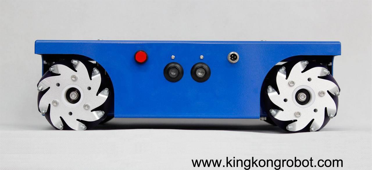 4WD Mecanum Wheel Mobile Robotic Platform/Kit