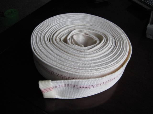 woven fire hose/pvc single jacket fire hose