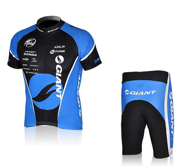 Giant custom team cycling jersey and shorts